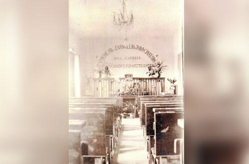 Interior del Primer Templo