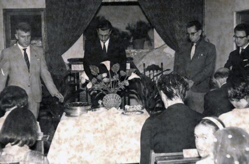 Frente del Templo en 1963